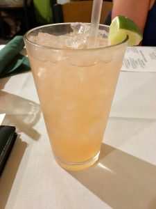 Strawberry Lemongrass Infused Margarita, Mangia Italiano – St. Louis, MO
