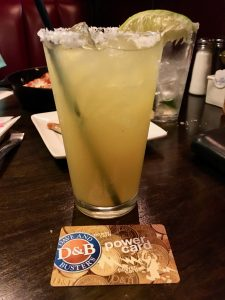 Million Dollar Margarita, Dave and Buster's, St. Louis, MO